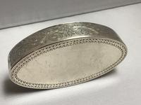 Georgian Solid Silver Snuff Box (3 of 7)
