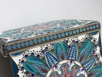 Excellent Russian Silver & Enamel Box (6 of 9)