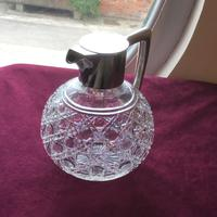 Excellent Solid Silver Topped Claret Jug (3 of 8)