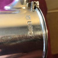 Excellent Solid Silver Topped Claret Jug (8 of 8)