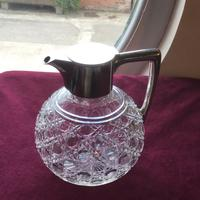 Excellent Solid Silver Topped Claret Jug (2 of 8)
