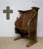 19th Century French Miséricorde Church Stall