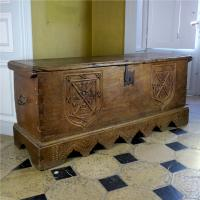 17th Century House of Bourbon Oak Chest