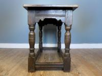Antique Oak Communion Table (3 of 4)
