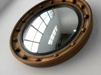 Antique English Convex Mirror (2 of 5)
