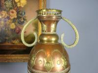 Large Antique Moorish Copper Vases (2 of 4)