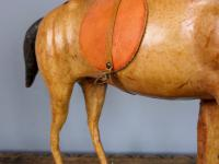 Vintage Leather Horse Model (7 of 9)