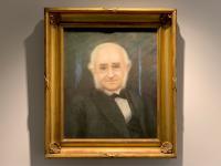Antique Pastel Portrait of An English Gent 1906