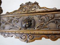 "Antique French ""Dagobert"" X-Frame Armchair (3 of 5)"