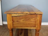 Outstanding Olive Wood Console Table (6 of 6)