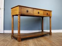 Outstanding Olive Wood Console Table (3 of 6)