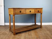 Outstanding Olive Wood Console Table (2 of 6)