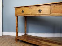 Outstanding Olive Wood Console Table (4 of 6)