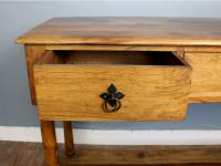 Outstanding Olive Wood Console Table (5 of 6)
