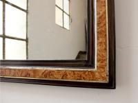 Large 19th Century Louis Philippe Faux Grained Mirror (2 of 6)