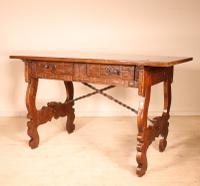 Spanish Table / Desk 17th Century in Walnut