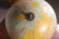 Terrestrial Globe Rand Mcnally & Co Cast Iron Base (12 of 12)