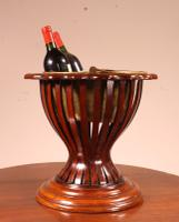 19th Century Mahogany Wine Cooler From England (3 of 8)