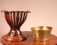 19th Century Mahogany Wine Cooler From England (5 of 8)