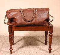 19th Century Mahogany English Luggage Rack (2 of 8)