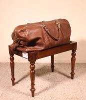 19th Century Mahogany English Luggage Rack (3 of 8)