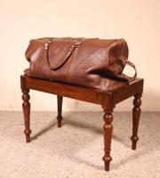 19th Century Mahogany English Luggage Rack (4 of 8)