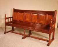 French Bench in Cherry Wood 19th Century (2 of 8)