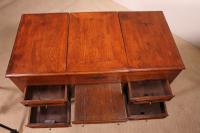 Little Louis XVI Dressing / Side Table Table in Oak 18th Century (8 of 9)