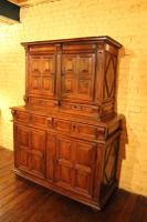 Renaissance End 16th Century French Cabinet in Walnut (3 of 7)