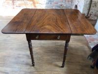 Regency Pembroke Walnut Table