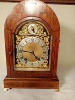 """W&H """"Ting-Tang"""" Rosewood Bracket Clock"""