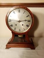 """W&H """"Ting-Tang"""" Mahogany Bracket Clock"""