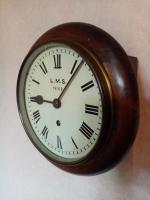 "8"" LMS Railway Clock (2 of 5)"