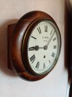 "8"" LMS Railway Clock (3 of 5)"