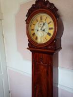 Scottish Drumhead Longcase Clock. Dilger & Barclay. Glasgow