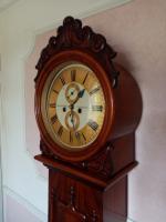 Scottish Drumhead Longcase Clock. Dilger & Barclay. Glasgow (2 of 10)