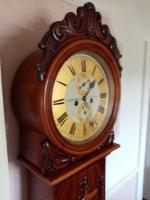 Scottish Drumhead Longcase Clock. Dilger & Barclay. Glasgow (5 of 10)