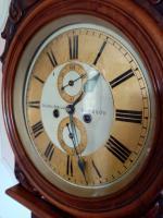 Scottish Drumhead Longcase Clock. Dilger & Barclay. Glasgow (9 of 10)