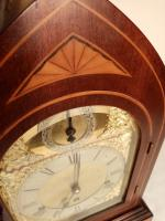 Westminster Chime, Lancet Top, Mahogany Bracket / Mantel Clock (6 of 7)