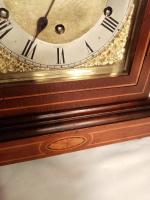 Westminster Chime, Lancet Top, Mahogany Bracket / Mantel Clock (7 of 7)