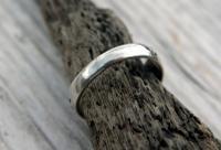 Antique Silver Mizpah Ring, Edwardian circa 1905 (4 of 9)