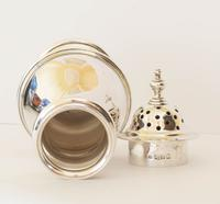 Classic Style Silver Sugar Caster / Shaker - London 1917 (2 of 4)