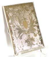 Exceptional Silver Card Case in a Mappin & Webb Box - 1893 (2 of 10)