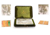 Exceptional Silver Card Case in a Mappin & Webb Box - 1893 (10 of 10)