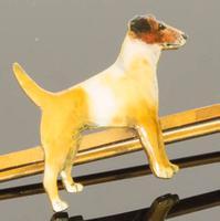 Good Quality Enamelled Terrier Dog Bar Brooch (4 of 5)