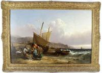 William Shayer Senior, Large Oil on Canvas
