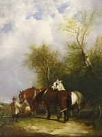 William Shayer Oil Painting