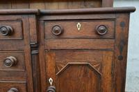 18th Century Oak Inlaid Dresser with Plate Rack (4 of 4)