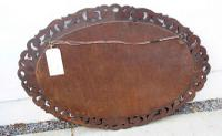Early 20th Carolean Style Carved Oak  Overmantle  Mirror - Chestnut (10 of 10)
