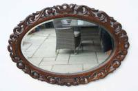 Early 20th Carolean Style Carved Oak  Overmantle  Mirror - Chestnut (3 of 10)